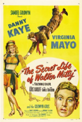The Secret Life of Walter Mitty 1947 DVD - Danny Kaye / Virginia Mayo